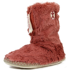 Bedroom Athletics Monroe Slipper Boot - Canyon Pink & Cream