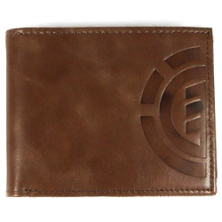 Element Daily Elite Wallet - Brown