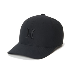 Hurley Dri-Fit One & Only Cap - Black & Black