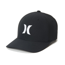 Hurley Dri-Fit One & Only Cap - Black & White