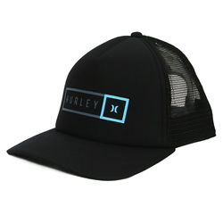 Hurley Industrial Trucker - Black & Ozone Blue