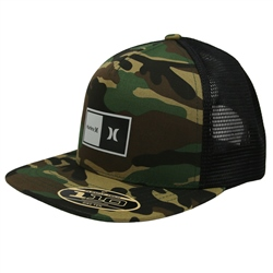 Hurley Natural 2.0 Trucker - Camo Green