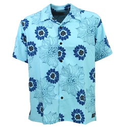 Hurley Phantom Rob Machado Aloha Shirt - Glacier Ice