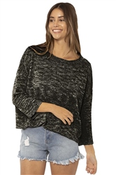 SisstrEvolution Blissed Out Jumper - Black