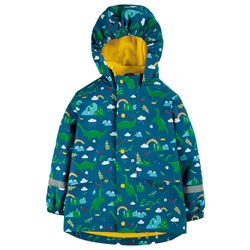 Frugi Puddle Buster Jacket - Loch Blue Nessie