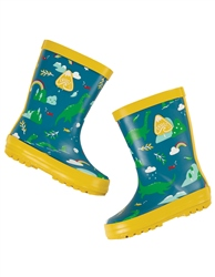 Frugi Puddle Buster Wellington Boots - Nessie