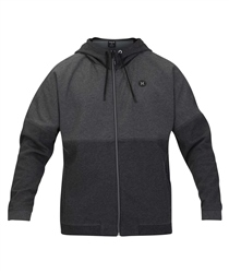 Hurley Therma Zipped Boys Hoody - Black Heather