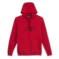 Animal Heriter Hoody - Dahlia Red