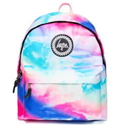 Hype Cloud Fade Backpack - Blue & Pink