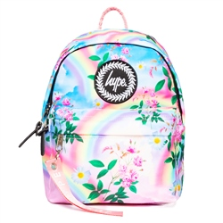 Hype Daisy Rainbow Mini Backpack - Pink & Blue