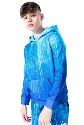 Hype Blue Drips Hoody - Blue