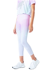 Hype Pastel Drips Leggings - Pink