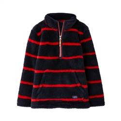 Joules Woozle Fleece - Navy Red Stripe