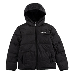 Levi's Sherpa Zipped Hoody - Black