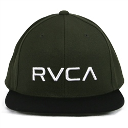 RVCA All The Way Trucker - Grey & Green