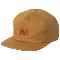 RVCA Chain Mail Clasp Back Cap - Camel