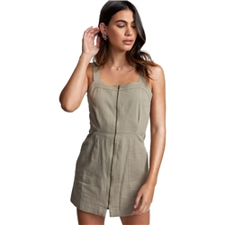 RVCA Emery Dress - Khaki Sage