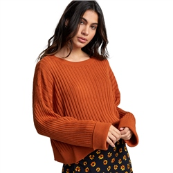 RVCA Sydney Jumper - Dark Orange