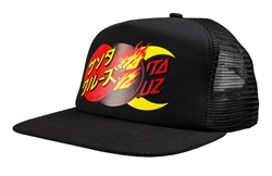 Santa Cruz Dot Group Trucker - Black