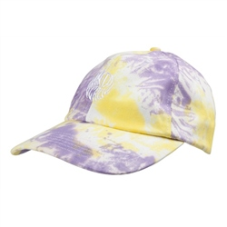 Santa Cruz Mako Dot Cap - Yellow & Purple Fold Dye