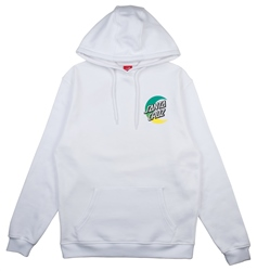 Santa Cruz Moon Dot Fade Hoody - White