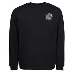 Santa Cruz Dot Splatter Sweatshirt - Black