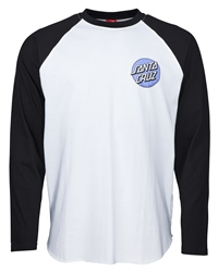Santa Cruz Rob Dot 2 T-Shirt - Black & White