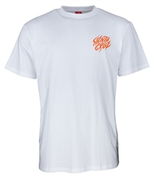 Santa Cruz Salba Tiger Hand T-Shirt - White