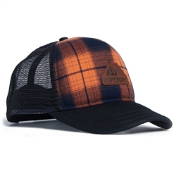 Superdry Vermont Trucker - Orange Check
