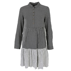 Superdry Kathryn Shirt Dress - Mono Geo