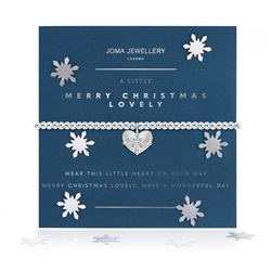 Joma Jewellery Little Merry Christmas Lovely Bracelet - Silver