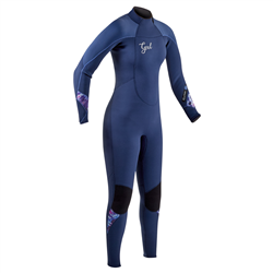 Gul Response 4/3mm Back Zip Wetsuit - Ink Blue
