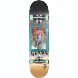 Globe G1 Firemaker Skateboard - Black & Natural