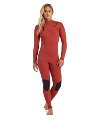 Billabong Salty Dayz 5/4mm Chest Zip Wetsuit - Sienna (2021)