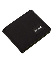 Hurley Rebound Solid Wallet - Black