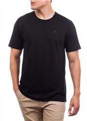 Hurley Dri-FIT Staple Icon Reflective T-Shirt - Black