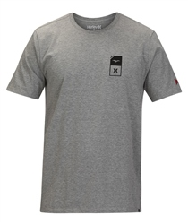 Hurley JJF Essential T-Shirt - Dark Grey Heather