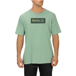 Hurley One & Only Shaded T-Shirt - Silver Pine