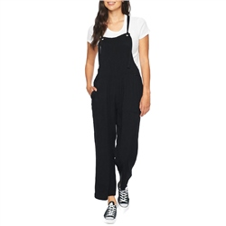 Hurley Mellow Jumpsuit - Black