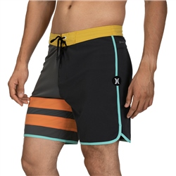 Hurley Phantom Block Party Boardshorts - Iron Grey