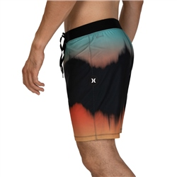 Hurley Phantom Glitch Boardshorts - Black