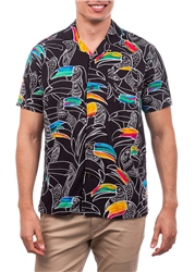 Hurley Flourish Shirt - Black