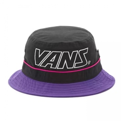 Vans Undertone Bucket Hat - Black & Purple