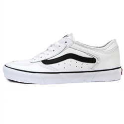 Vans Rowley Classic Shoes - Black & White