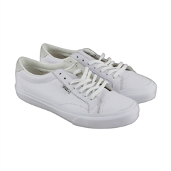 Vans Court DX Leather Shoes - True White