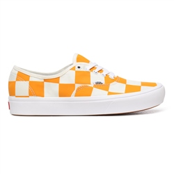 Vans Half Big Checker ComfyCush Authentic Shoes - Cadmium Yellow & Blue