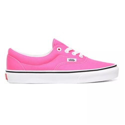 Vans Neon Era Shoes - Knockout Pink & True White