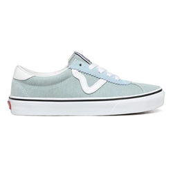 Vans Washed Denim Vans Sport Shoes - Denim Washed & True White