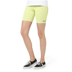 Vans Quantum Bike Shorts - Lemon Tonic Check