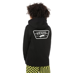 Vans Full Patched Hoody - Black & White